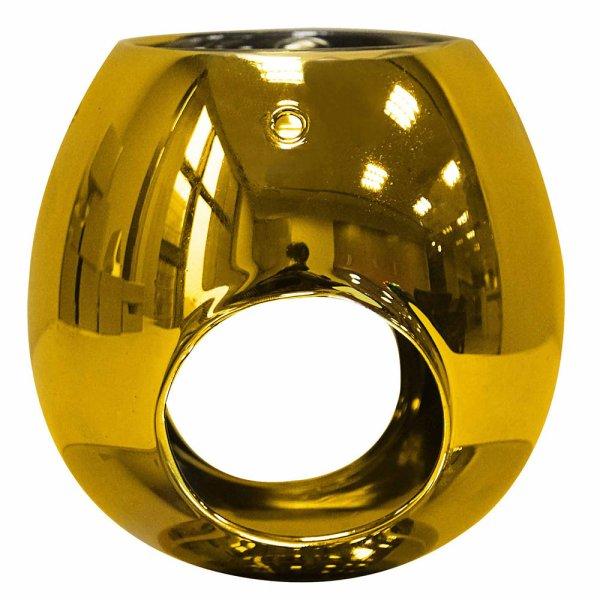GOLD OIL/WAX WARMER