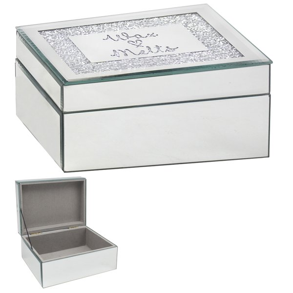 MIRROR CRYSTAL WAX MELTS BOX