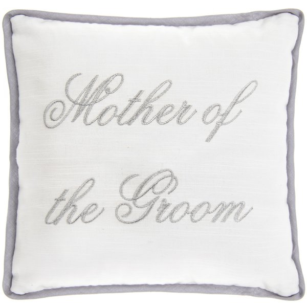 MOTHER OF THE GROOM CUSHION