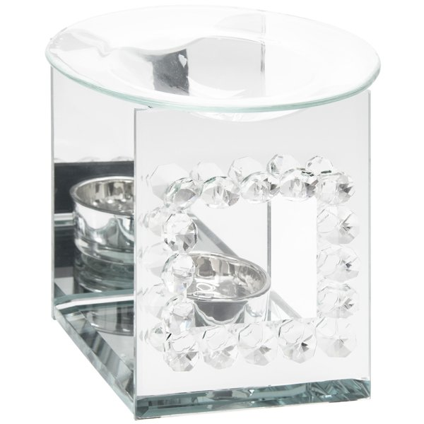CRYSTAL MIRROR OIL BURNER