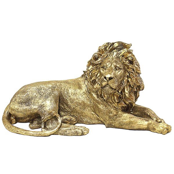 GOLD ART LION