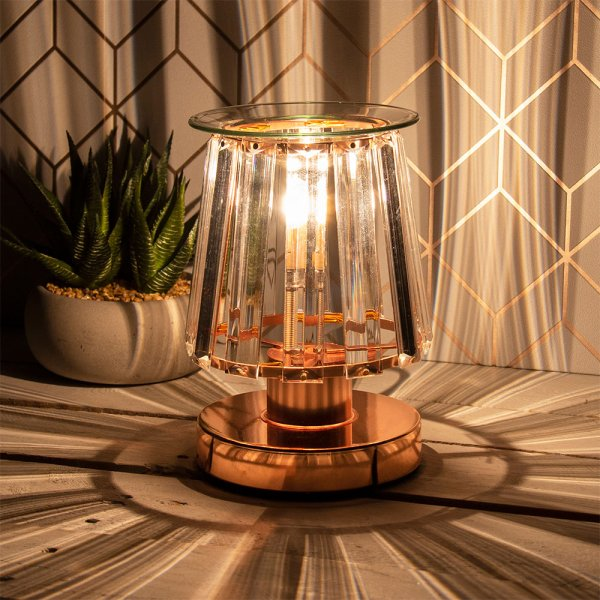 AROMA LAMP RSEGLD CLEARCRYSTAL