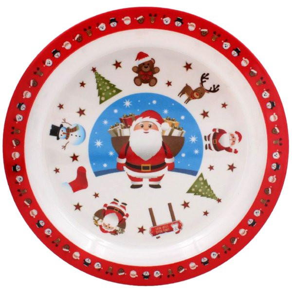 CHRISTMAS LITTLE STARS PLATE