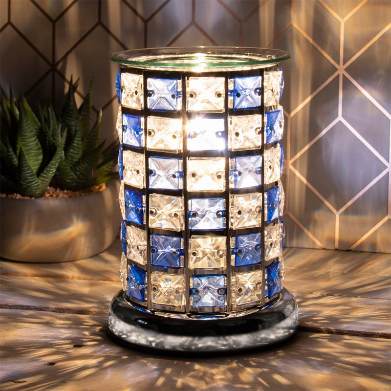 DESIRE AROMA LAMP BLUE/CLEAR