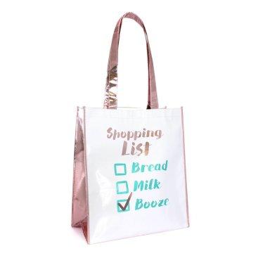 METALLIC SHOPPERS & GIFT BAGS