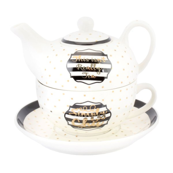 SIMPLY CHIC TEA FOR ONE