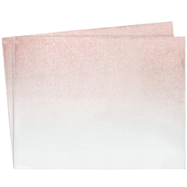 ROSE GOLD PLACEMATS S2
