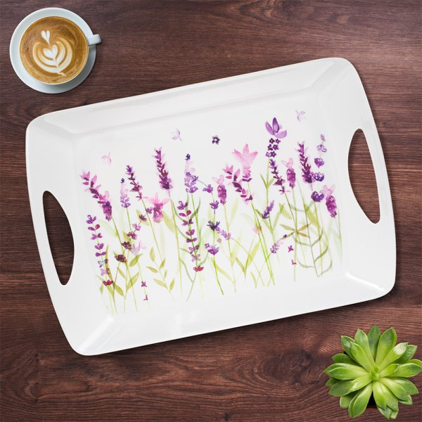 LAVENDER LARGE TRAY