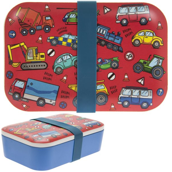 BAMBOO VEHICLES LUNCH BOX