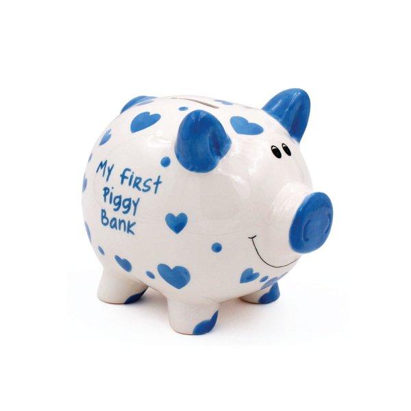 MY FIRST PIGGY BANK BLUE