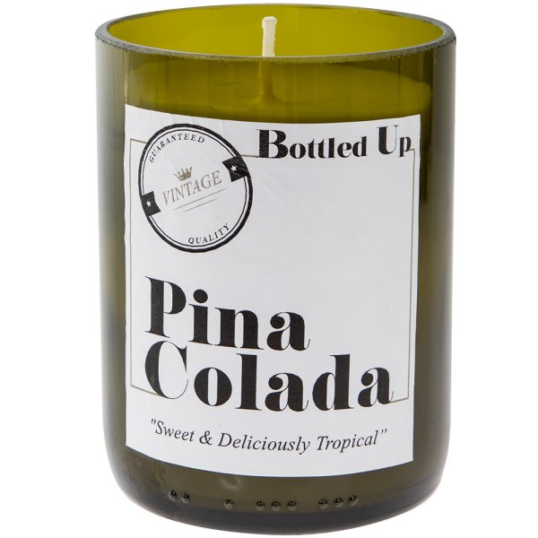 PINA COLADA BOTTLE CANDLE