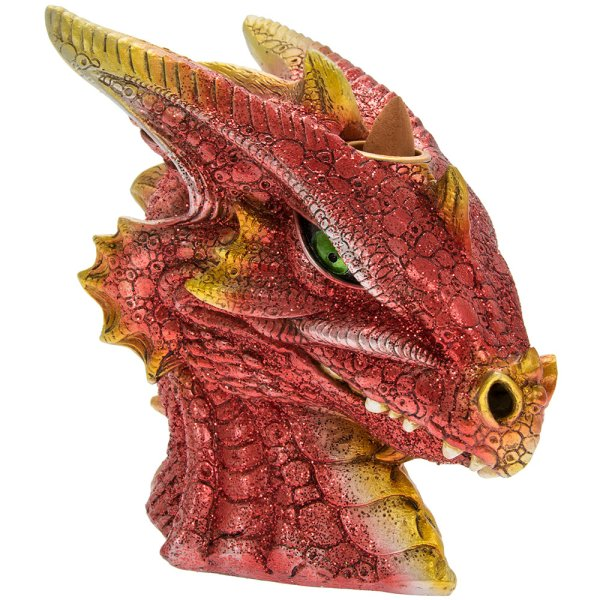 INCENSE BURNER DRAGON HEAD
