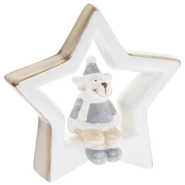 REINDEER WITH STAR S