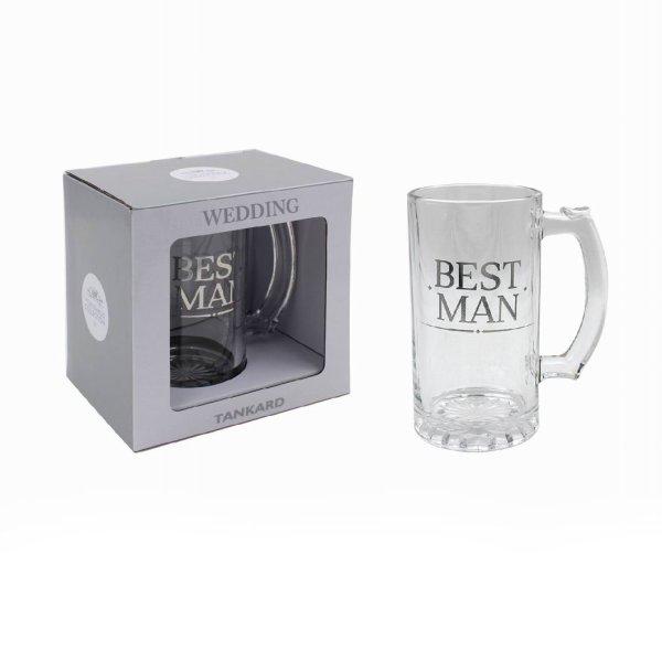 BEST MAN TANKARD