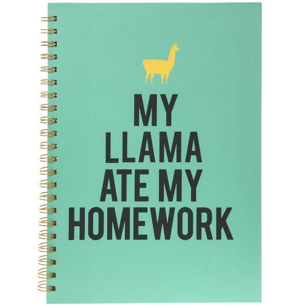 LLAMA NOTEBOOK A4