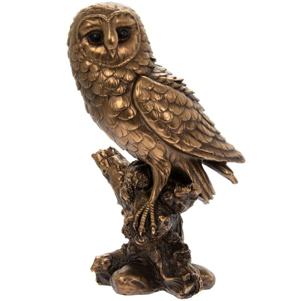 REFLECTIONS BRONZED OWL 10""