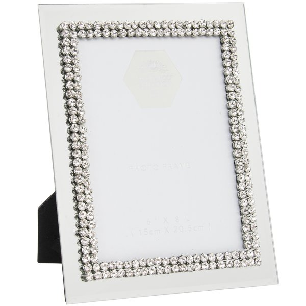 DIAMANTE MIRROR FRAME 6X8