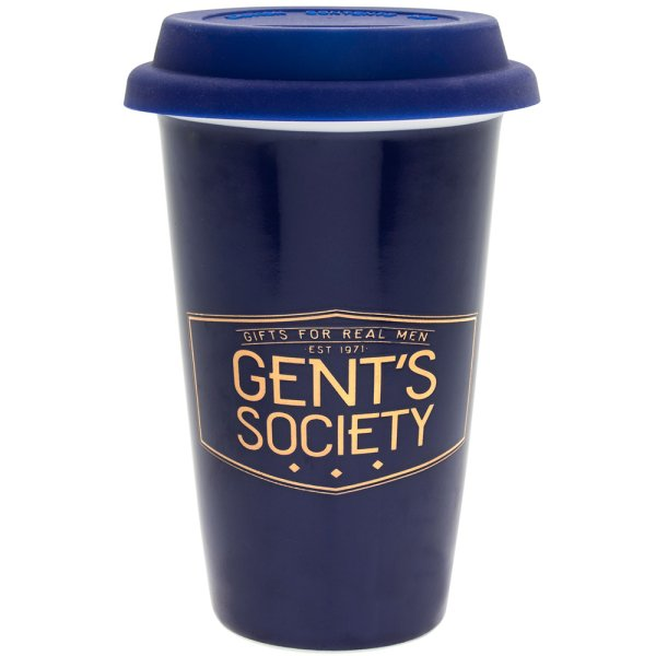 GENT'S SOCIETY TRAVEL MUG