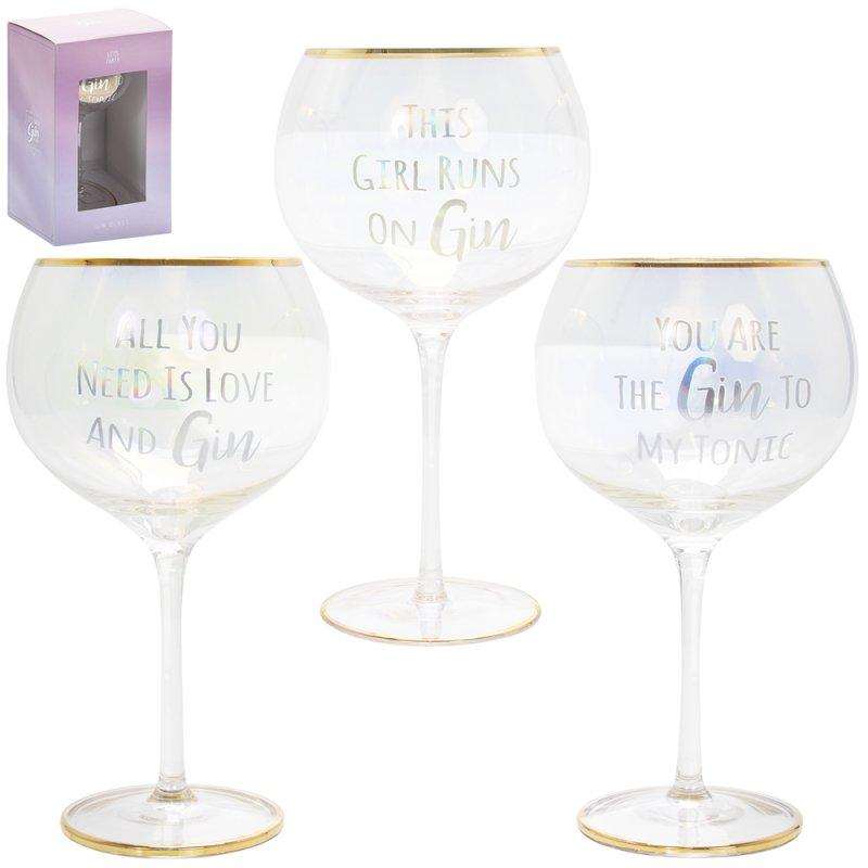 LUSTRE GIN GLASS