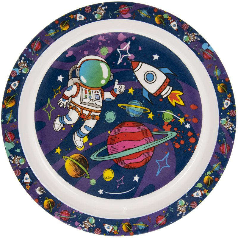 SPACEMAN PLATE