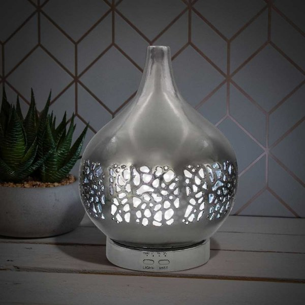 AROMA HUMIDIFIER SILVER