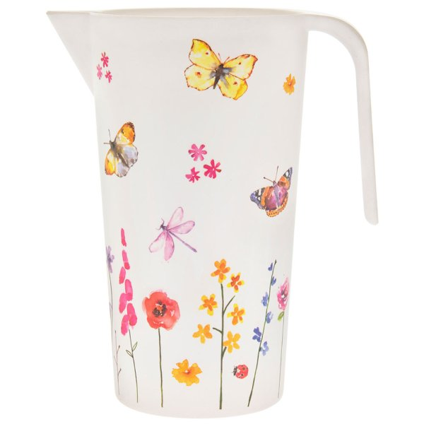 BUTTERFLY GRDN BAMBOO JUG
