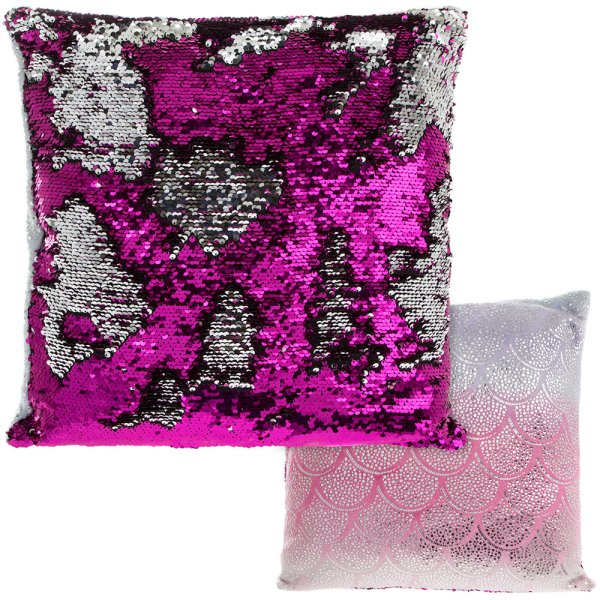 SEQUIN CUSHION RAINBOW