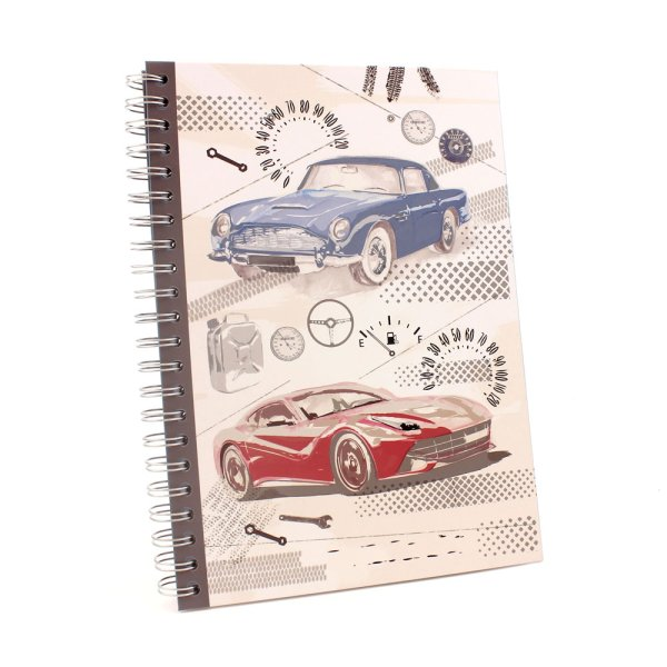 PIT STOP CAR A4 NOTEBOOK