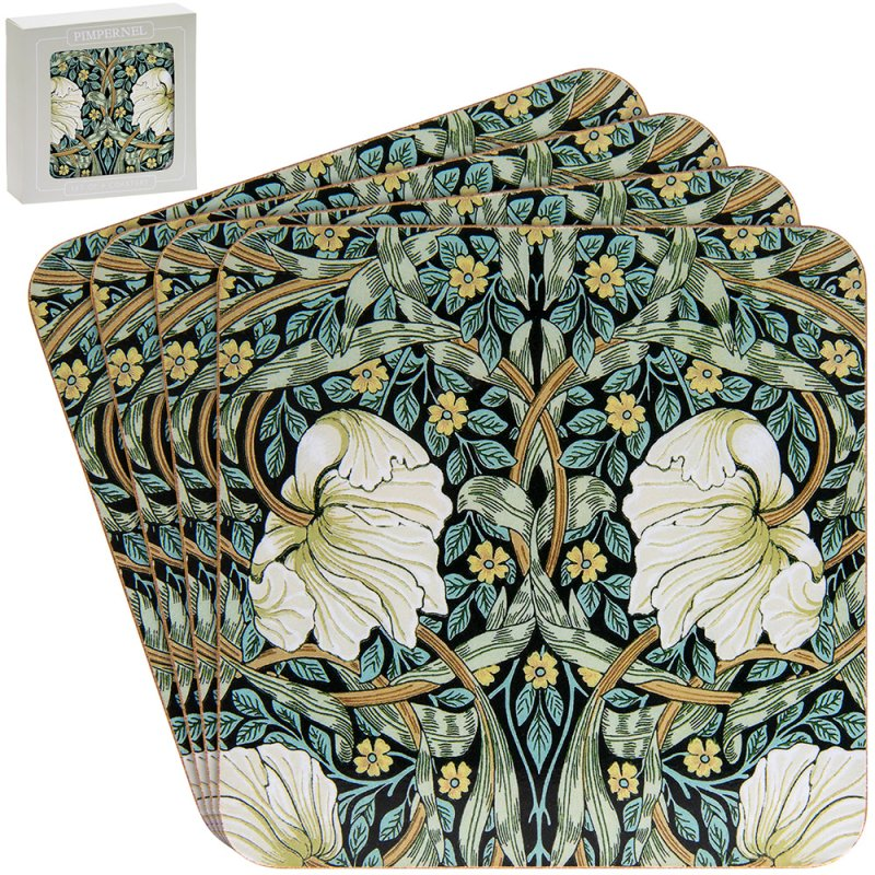 PIMPERNEL COASTERS S/4