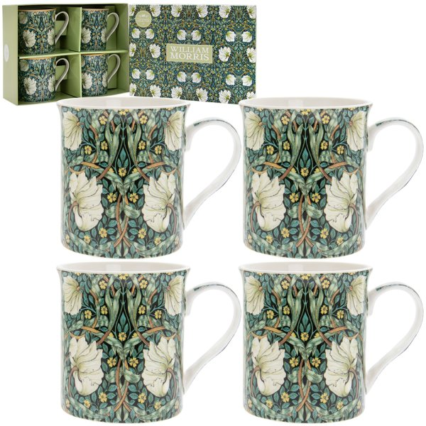 PIMPERNEL MUGS SET OF 4