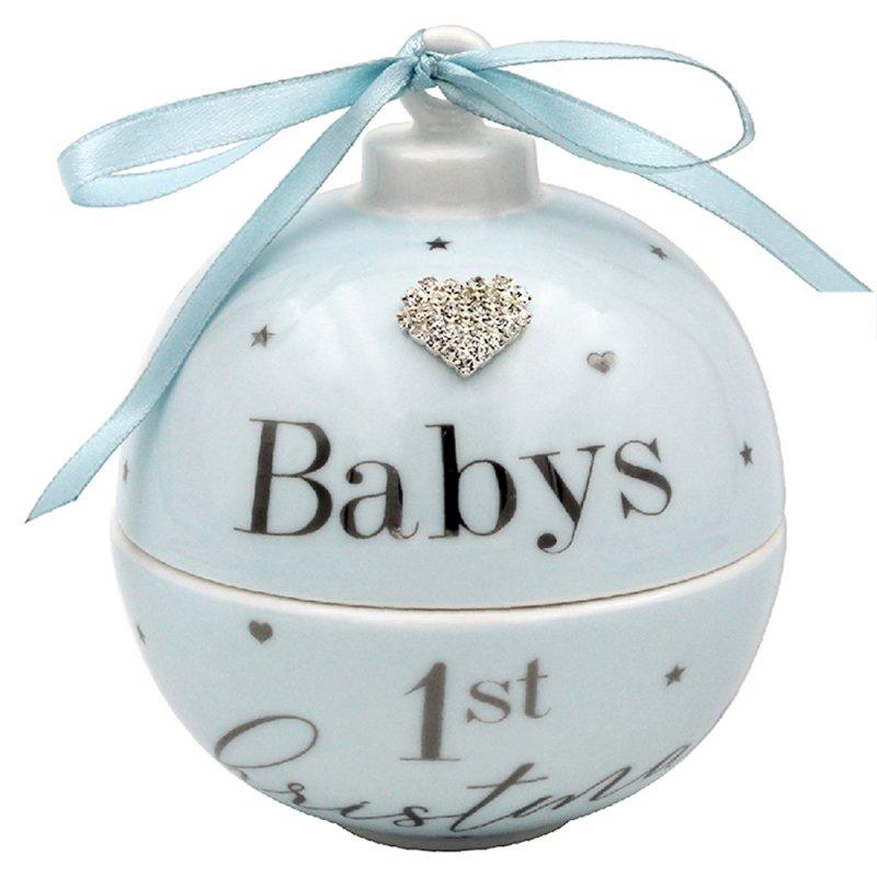 BABY FIRST XMAS TRINKBLU