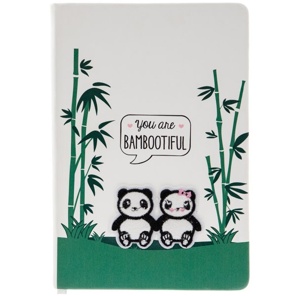 PANDA FLUFFY NOTEBOOK
