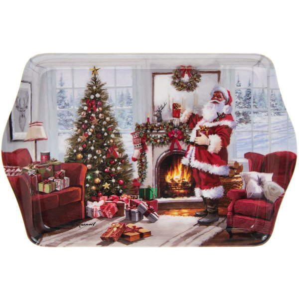 CHRISTMAS SANTA TRAY SMALL