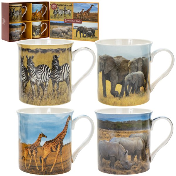 SAVANNAH MUGS SET OF 4