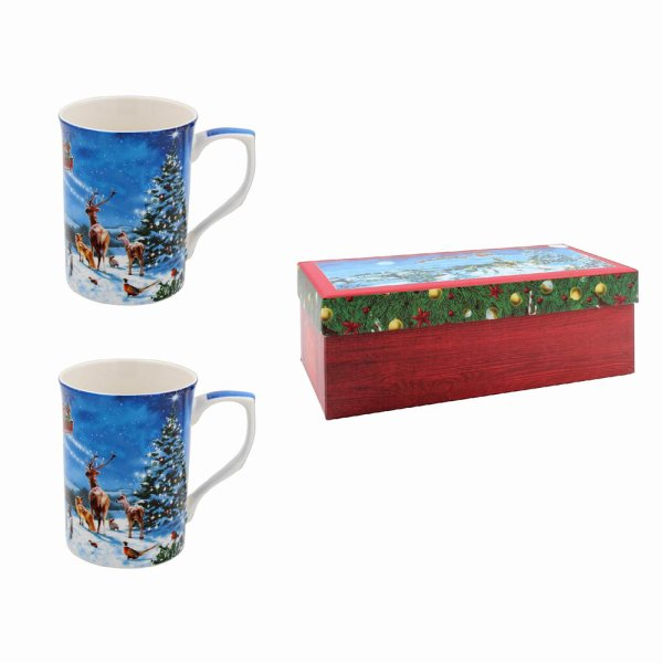 MAGIC OF XMAS MUGS SET 2