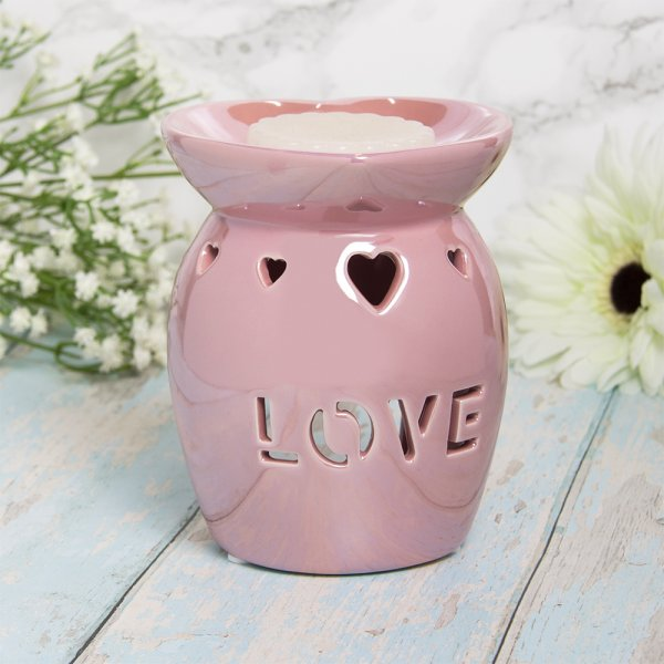 WAX/OIL WARM LOVE PINK LUSTRE