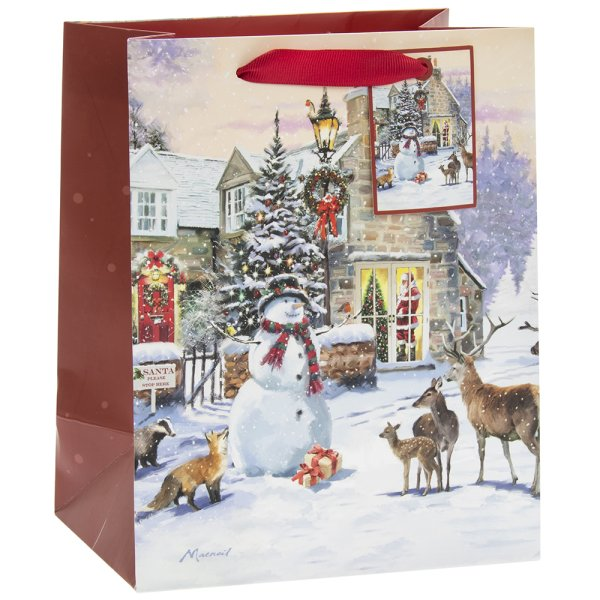 MAGIC OF CHRISTMAS GIFT BAG M