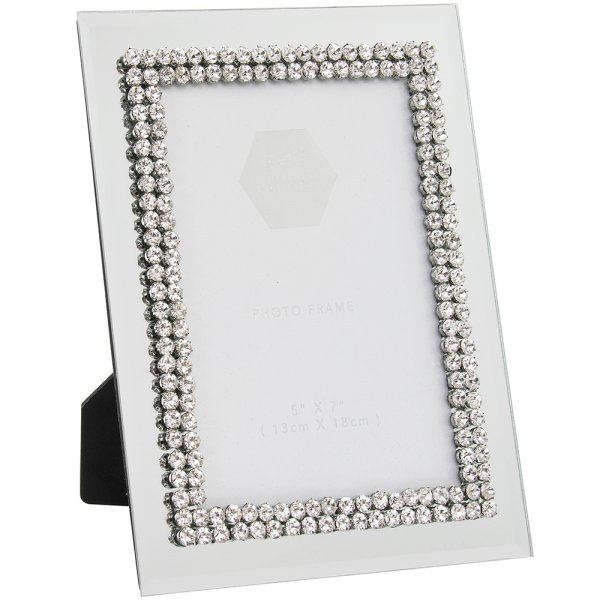 DIAMANTE MIRROR FRAME 5X7