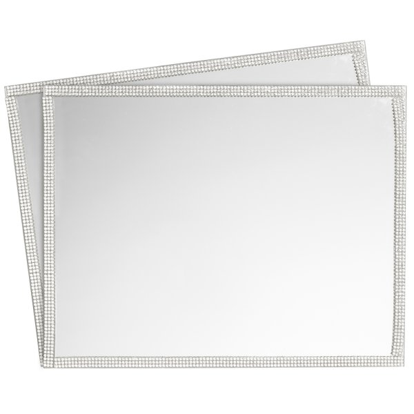 MIRROR PLACEMAT 2 SET