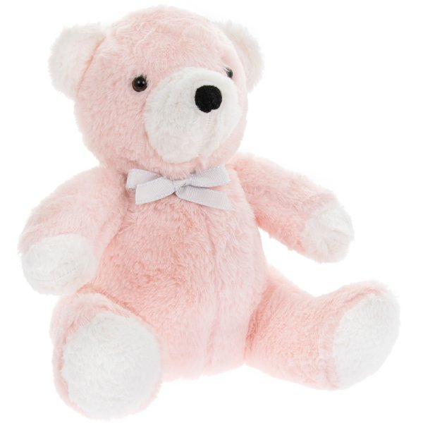 PINK TEDDY DOORSTOP