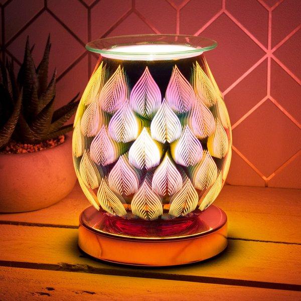 DESIRE AROMA LAMP FLAMES ROSE