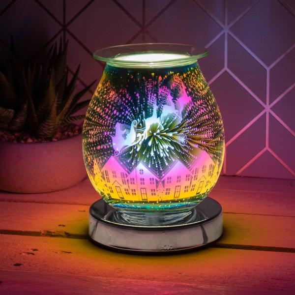 3D SILVER DEER AROMA LAMP