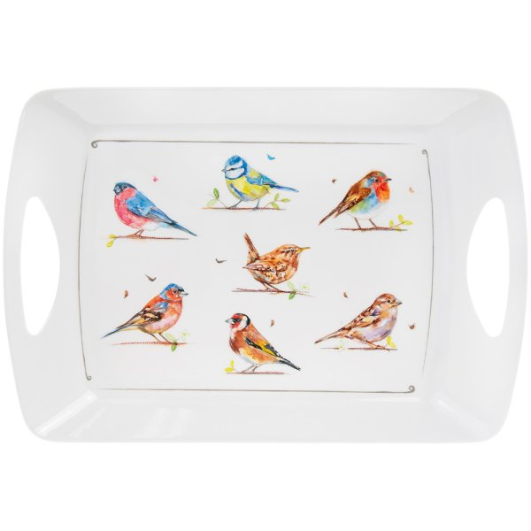 COUNTRY LIFE BIRDS TRAY XLARGE