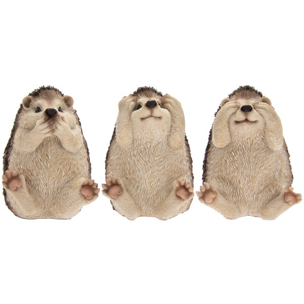 GARDEN PALS HEDGEHOGS SET 3