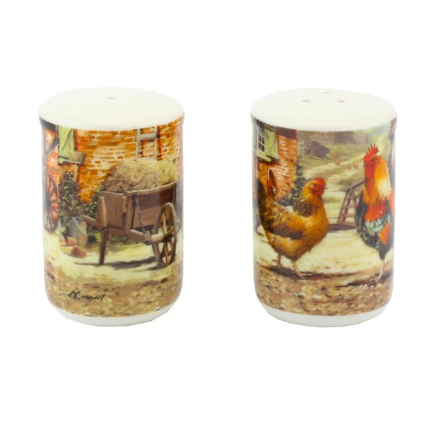 COCKEREL & HEN SALT & PEPPER