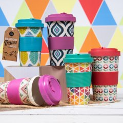 Bamboo Travel Mugs + more on Social Media