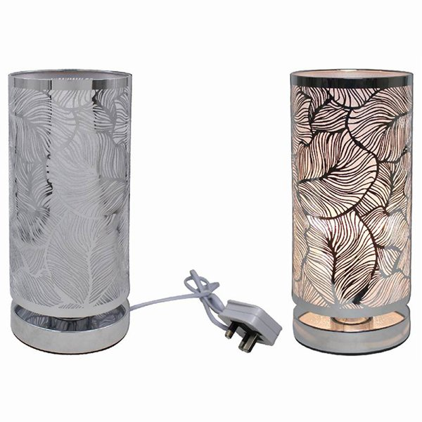 SILVER TOUCH LAMP LEAF