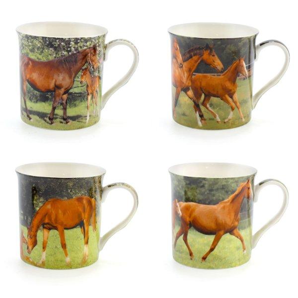 HORSE MUG 4 ASST