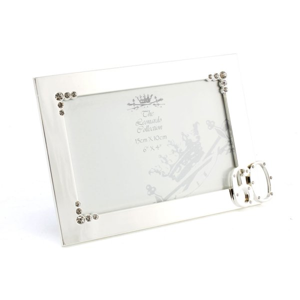 SILVER PLATED FRAME 60TH