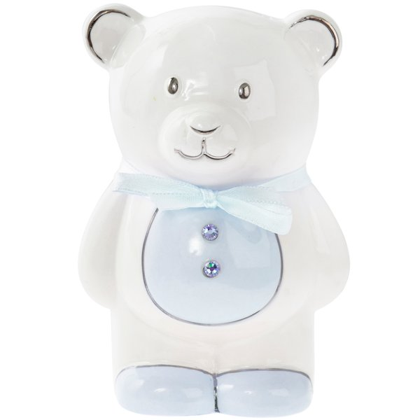 BLUE TEDDY MONEY BANK